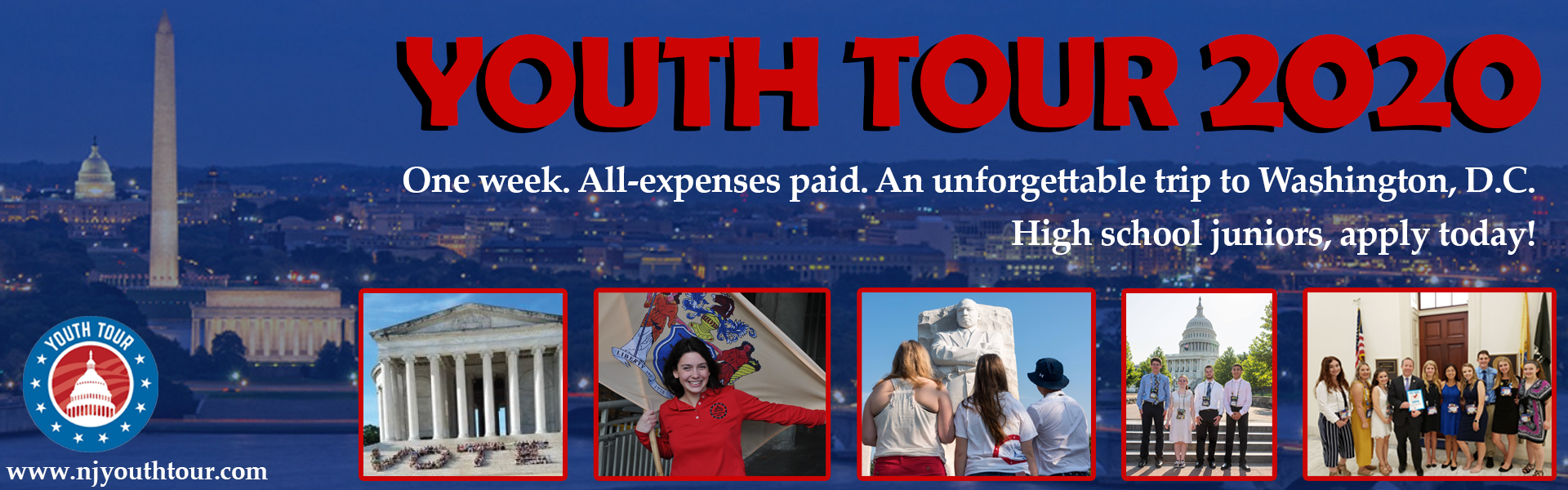 Youth Tour 2020 - Apply Today!