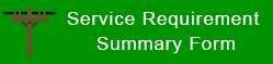 Service Requirement Summary Form