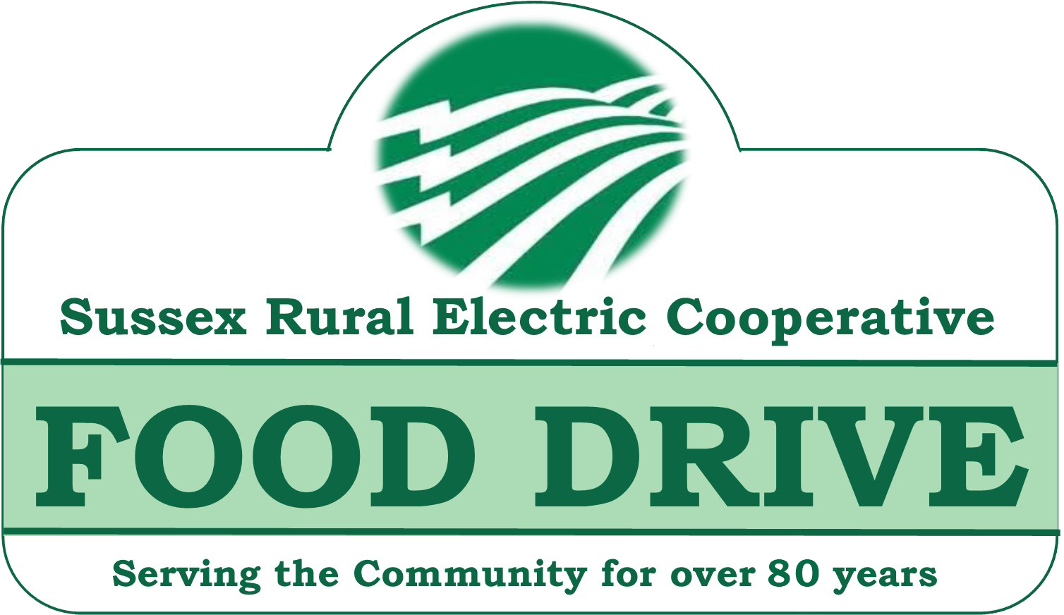 Sussex Rural Electric Cooperative Food Drive