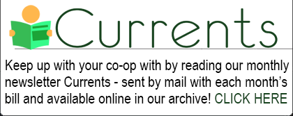 Currents, our monthly member newsletter